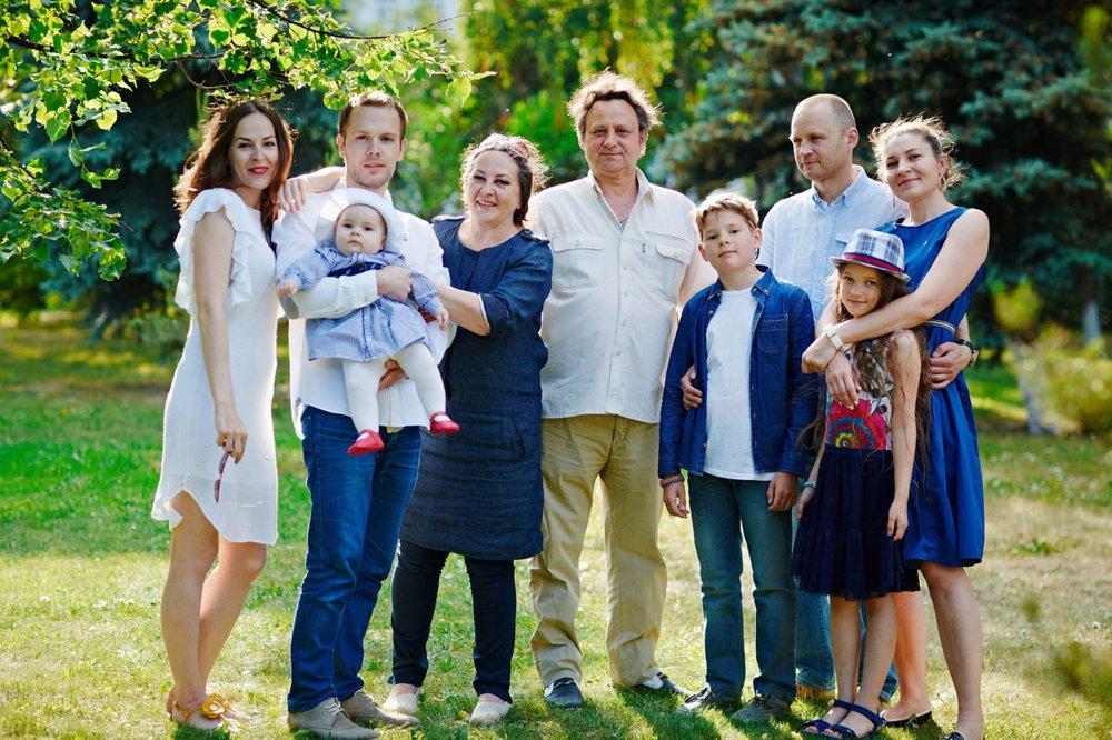 Большая семья картинки фото