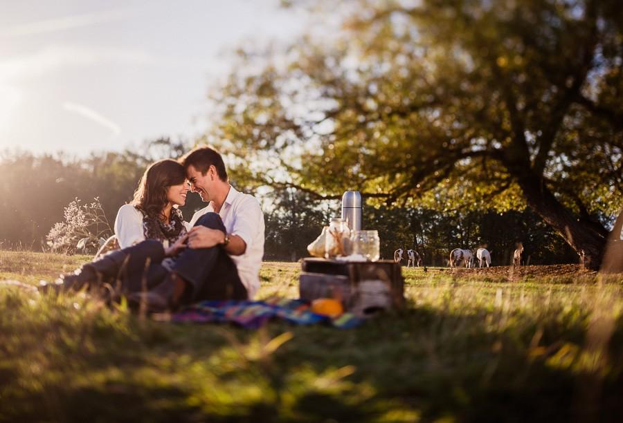пикник с любимым фото