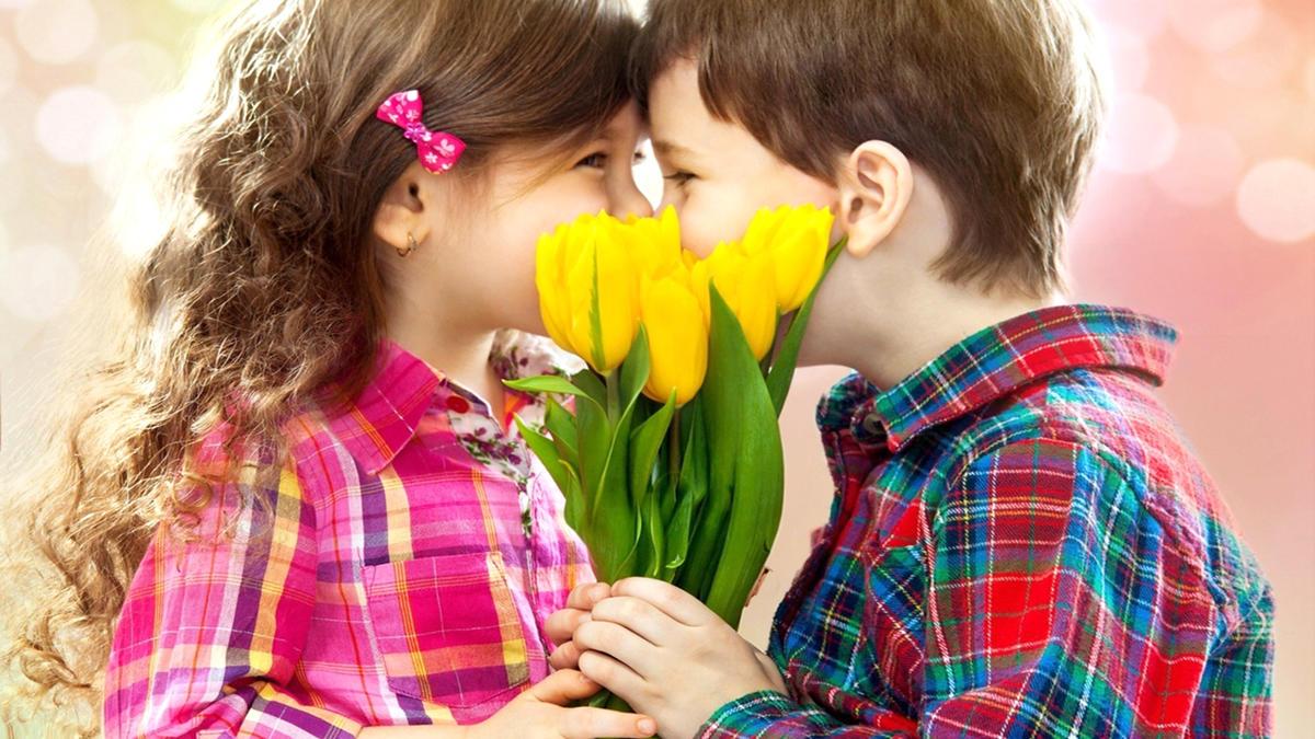 Картинки про любовь детьми